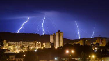 vihar veszelyjelzes idojaras omsz