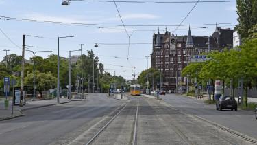 villamosvonal orczy út üllői út haller utca