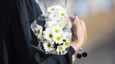 virágcsokor temetés