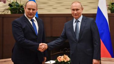 Vlagyimir Putyin Naftali Bennett