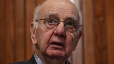 volcker191209gettyeditorial