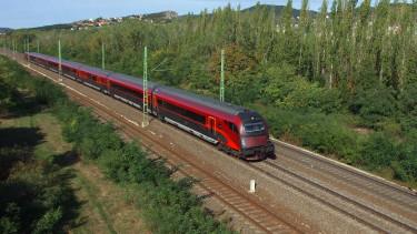 vonat railjet vasút