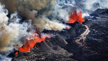vulkán láva