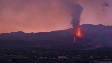 vulkánkitörés la palma