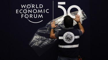 World Economic Forum (WEF) in Davos, Switzerland,
