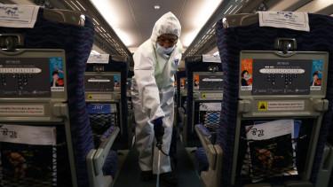 wuhan koronavírus járvány repülő