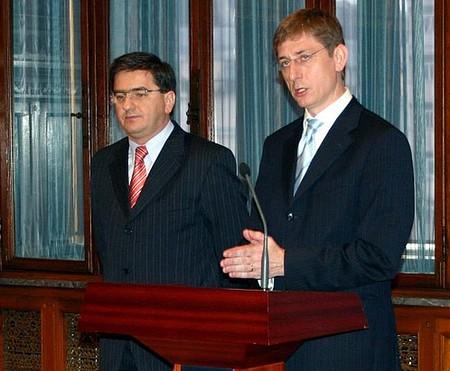... Veres János az új pénzügyminiszter