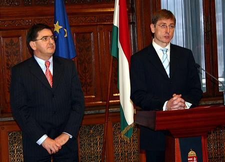 Veres János és Gyurcsány Ferenc