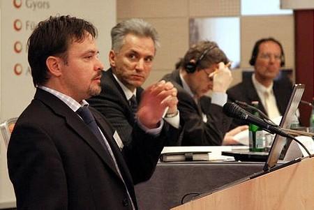 Benke Ákos (Corvinus), Alpek István (3TS Venture Partners)