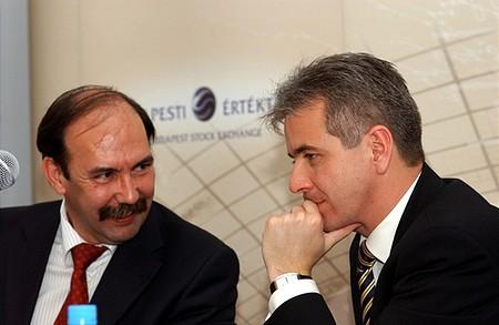 Horváth Zsolt (BÉT vez.ig.) és Szalay-Berzeviczy Attila (BÉT elnök)