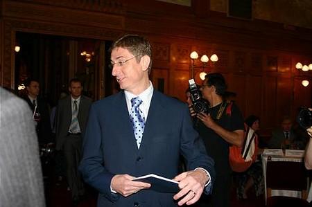 Megérkezik Gyurcsány Ferenc miniszterelnök