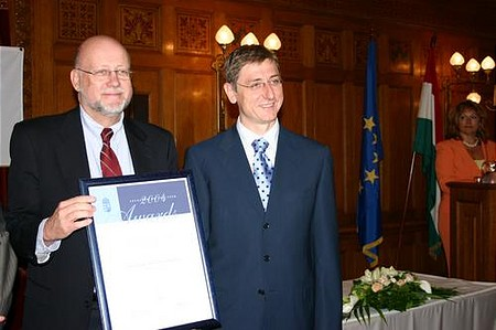 Antony Brown, a budapesti Business Support Center ügyvezető igazgatója
