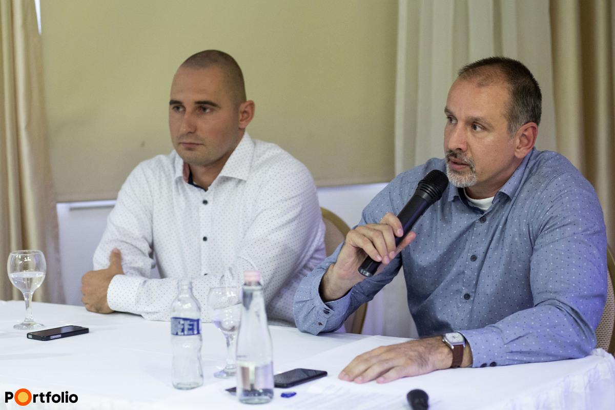 Kérdések és válaszok szekció: Bundics Márton (Babaváró Hitel szakértő, Takarék Csoport) és Hideg Richárd (CSOK szakértő, Takarék Csoport)