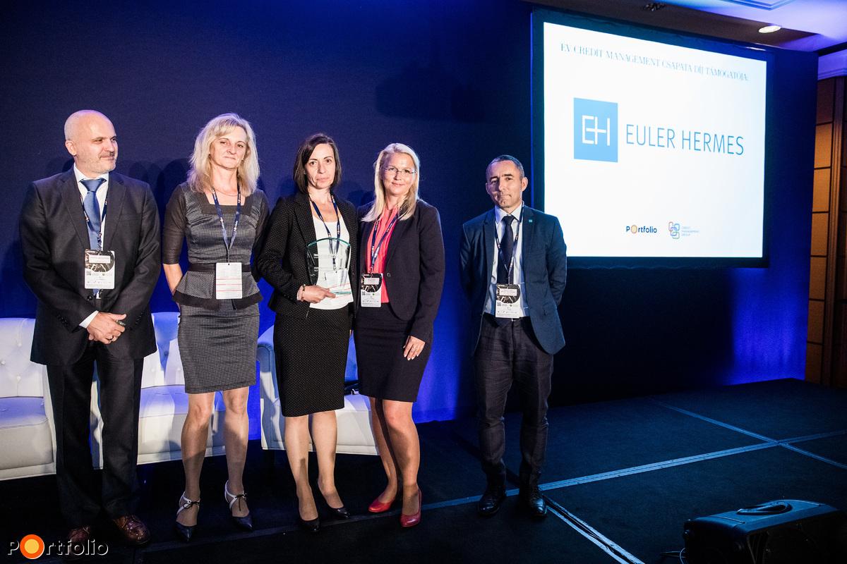 Az Év Credit Management Csapata díjazottak