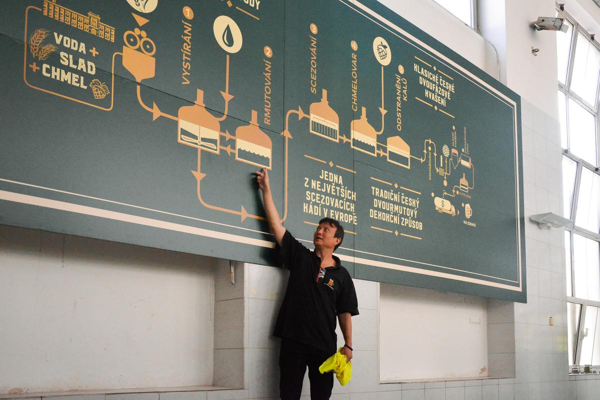 A cseh söröket speciális - ún. dekokciós - eljárással, egy plusz tartály felhasználásával készítik.