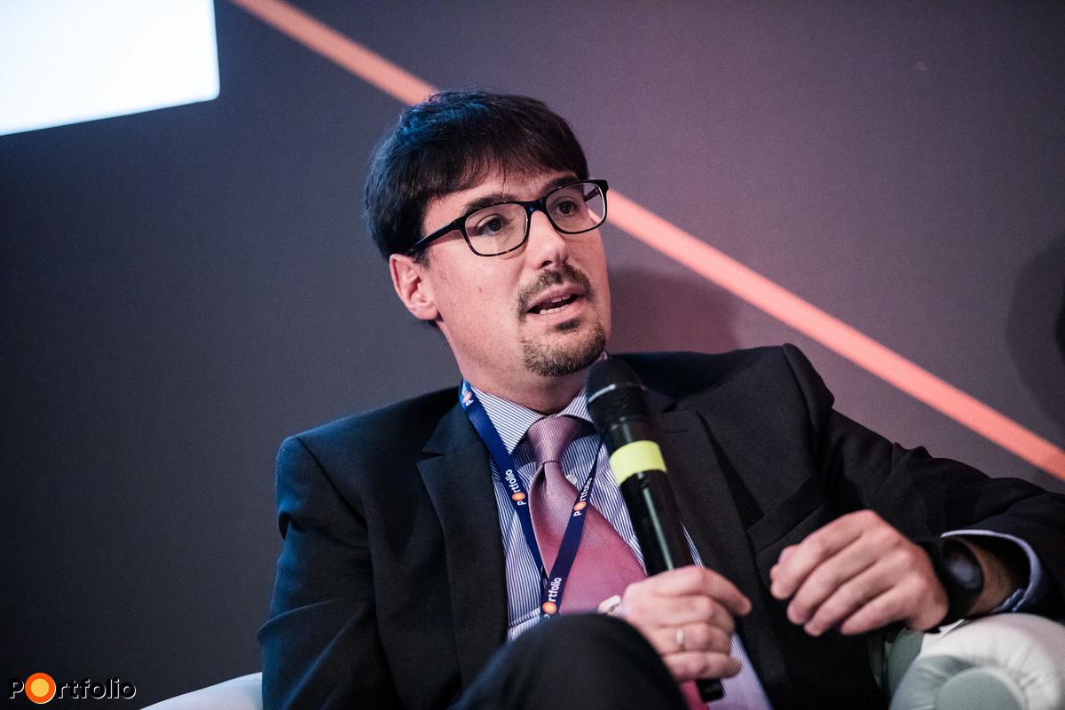 Szendrői Gábor, partner, európai alelnök, Concorde MB Partners, IMAP