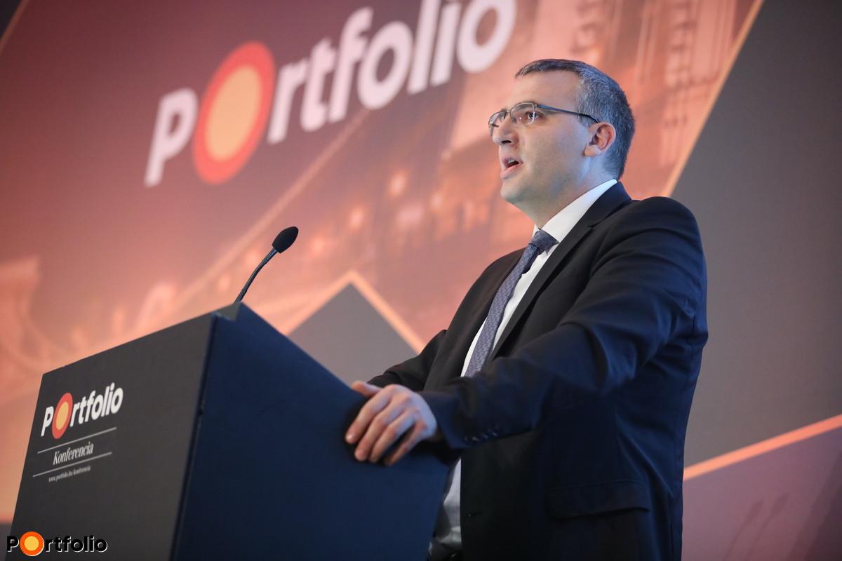 Sipos-Tompa Levente, az MFB elnök-vezérigazgatója