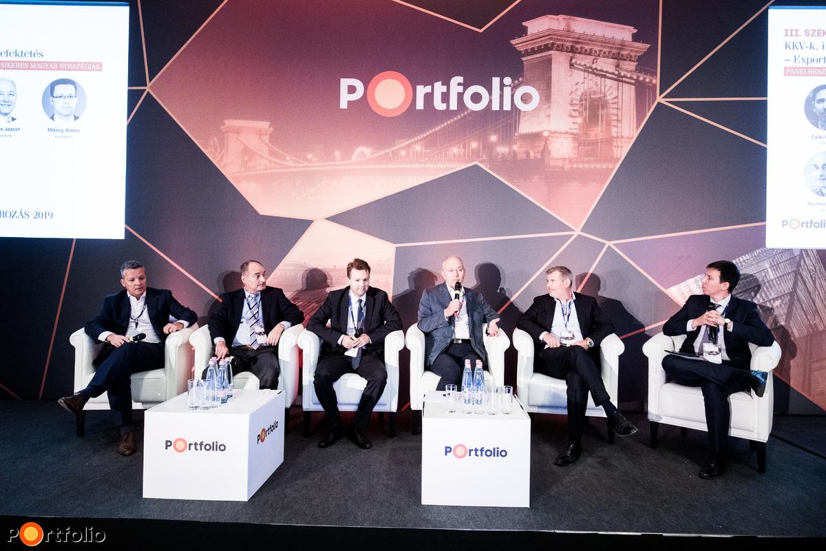 Panelbeszélgetés: Külpiaci terjeszkedés, sikeres magyar stratégiák