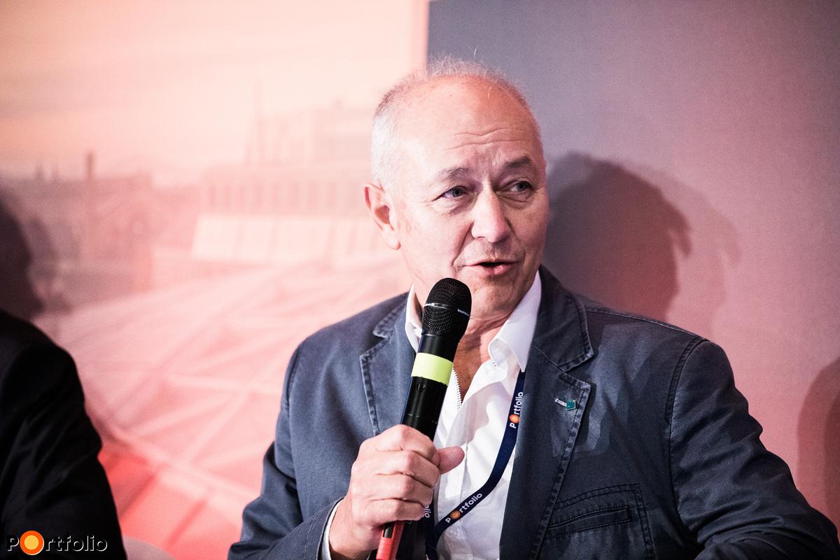 Farkas József, ügyvezető igazgató, Sanatmetal Kft.