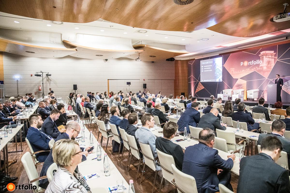 Több, mint 200 fő részvételével került megrendezésre a Portfolio Budapest Economic Forum 2019 konferencia