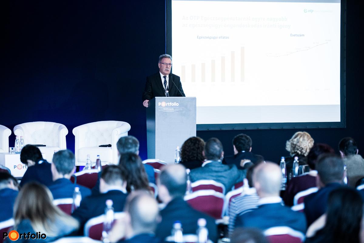 Studniczky Ferenc (ügyvezető igazgató, alapító, OTP Egészségpénztár): Vitaindító előadás