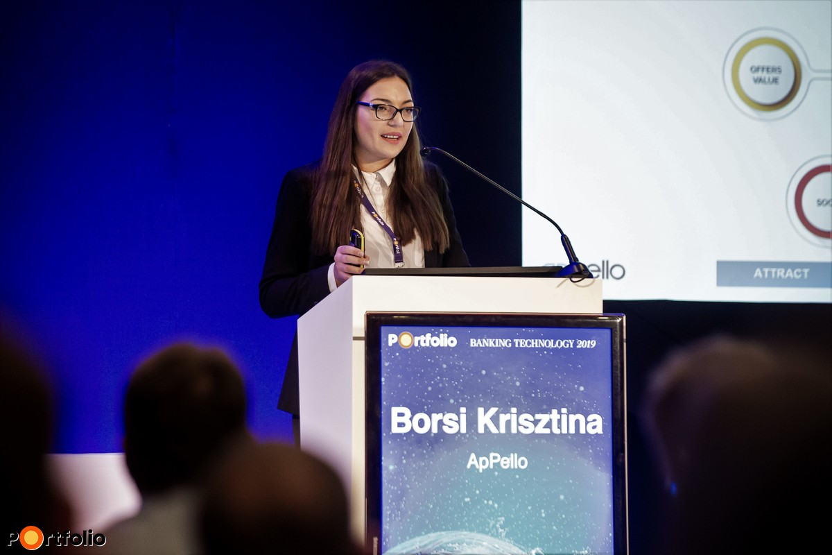 Borsi Krisztina (Business Analyst, ApPello): Megérteni a Z generációt ...mint digitális ügyfeleket és munkaerőt