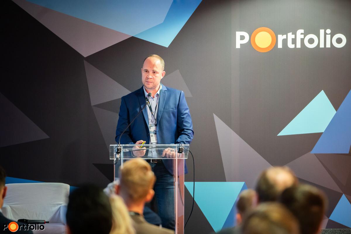 Bokrossy Dávid (közgazdász, Pénzügyi Szolgáltatások üzletágának magyarországi vezetője): Hewlett Packard EnterpriseFogyasztás alapú IT a gyakorlatban