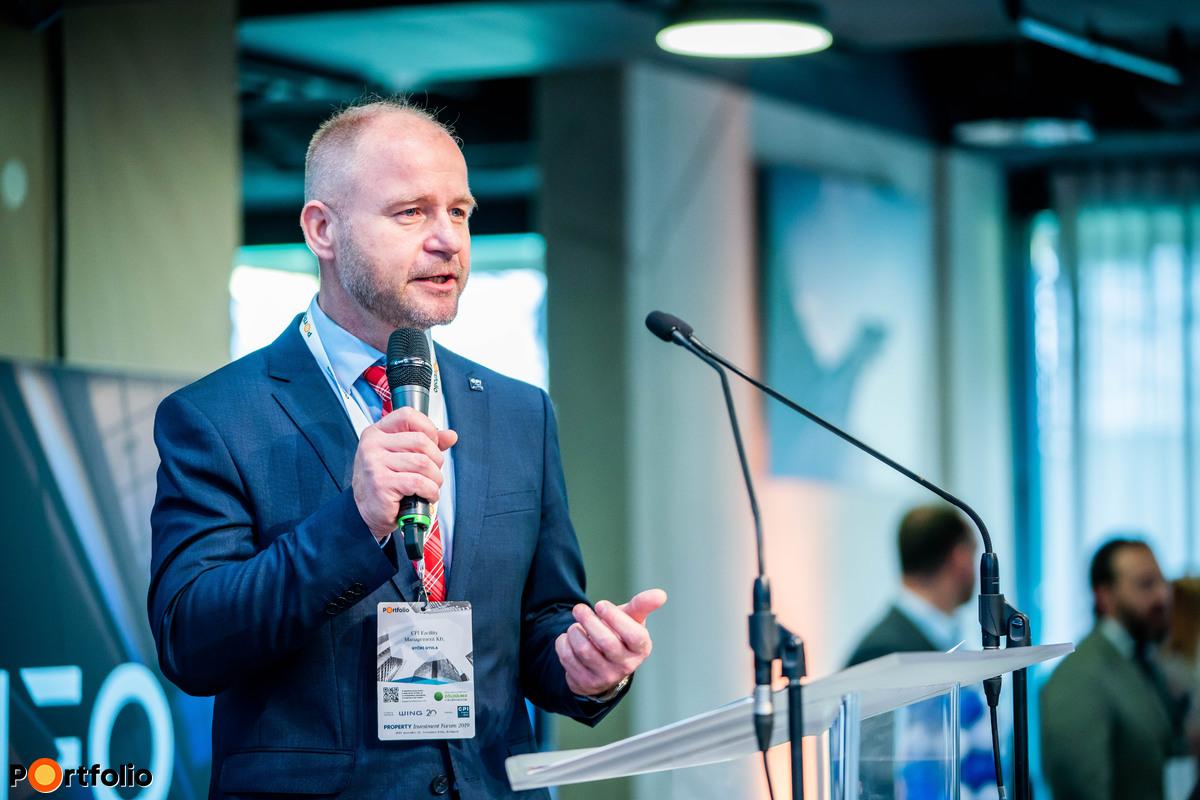 Győri Gyula (Facility Management Director, CPI Facility Management Kft.): Új változó az üzemeltetésben