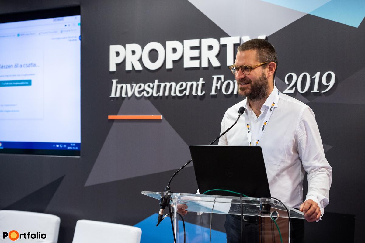 Csürös Csanád (vezérigazgató, Property Forum): Proptech Q&A