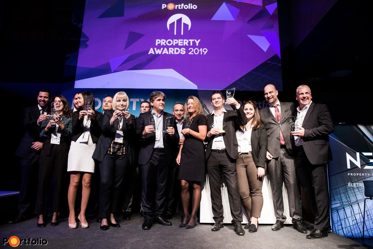Portfolio Property Awards díjátadó
