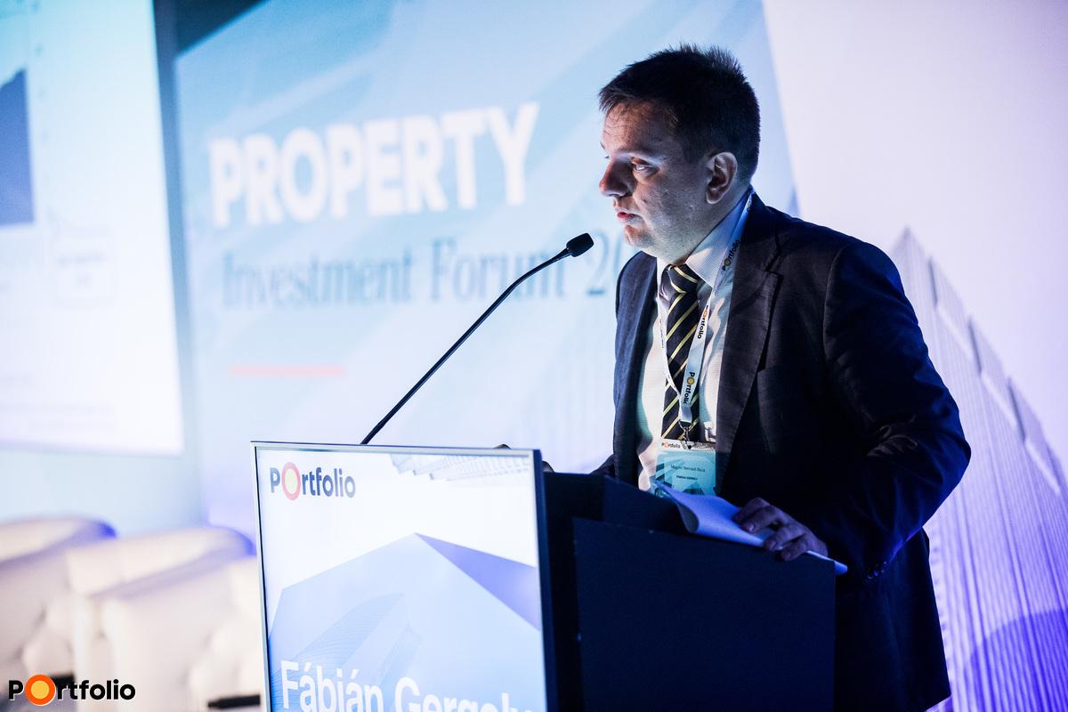 Fábián Gergely (ügyvezető igazgató, Magyar Nemzeti Bank): Kereskedelmi ingatlanpiac kilátásai az MNB szemével