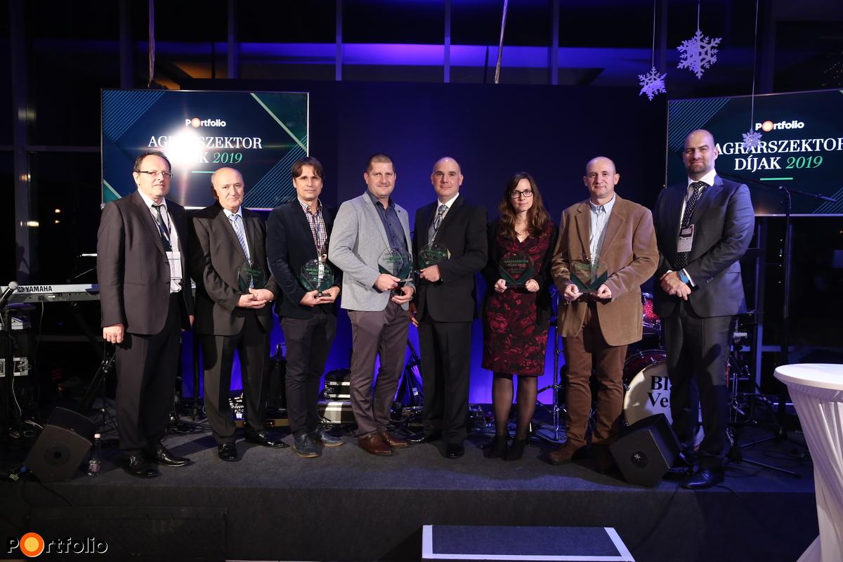 Agrárszektor 2019 díjazottak