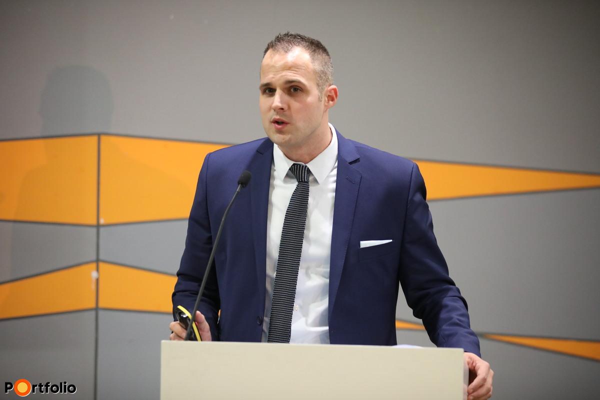Láving Gusztáv, KKV Befektetési Igazgató, Hiventures - For Hungarian Innovative Startups