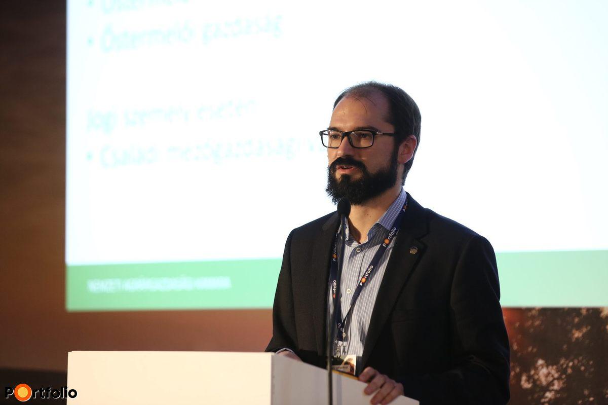 Cseszlai István, stratégiai igazgató, Nemzeti Agrárgazdasági Kamara