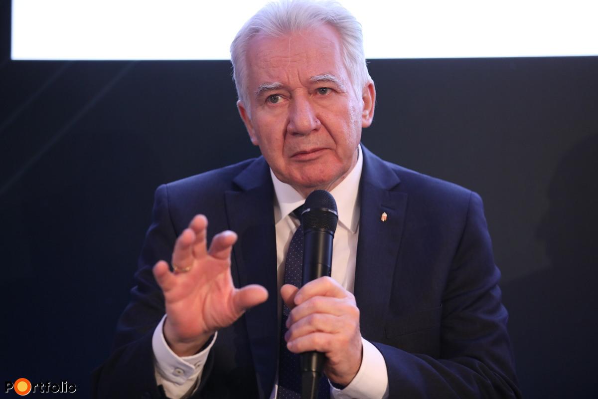Jakab István, elnök, Magyar Gazdakörök és Gazdaszövetkezetek Szövetsége