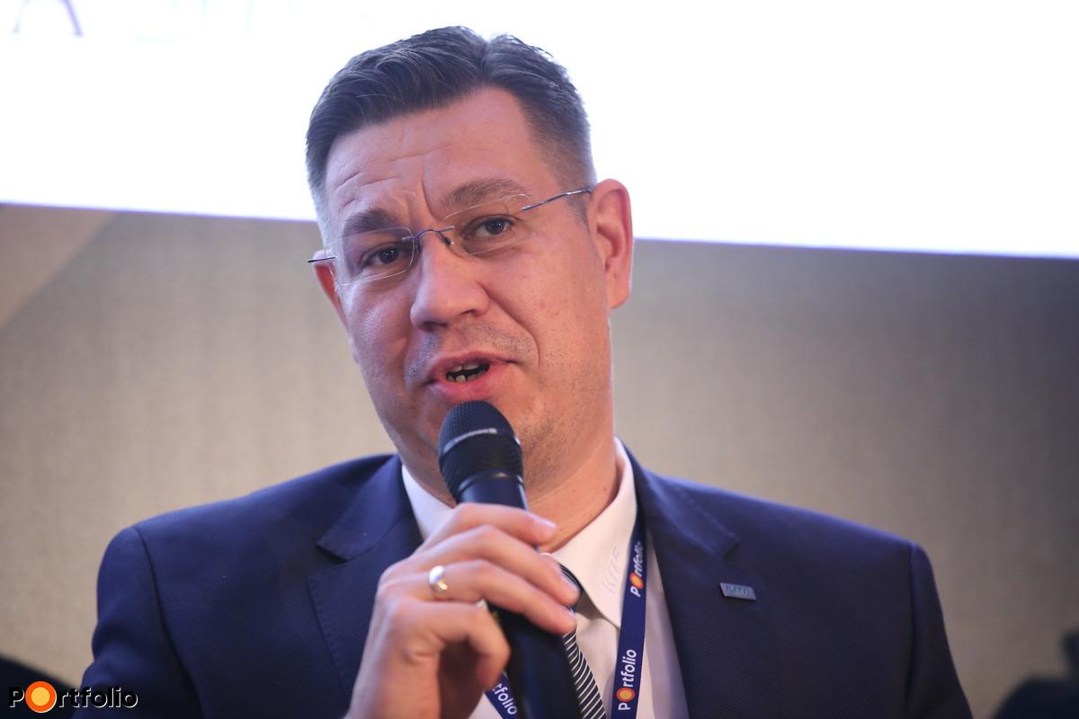 Szabó Levente, vezérigazgató, KITE Zrt.