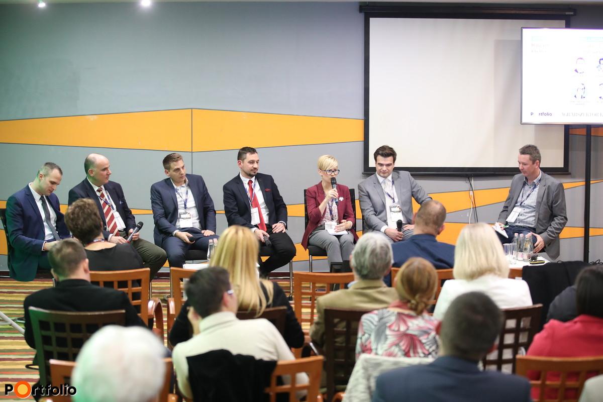 Halaszthatatlan generációváltás: a gazdaságátadás megoldási lehetőségei és buktatói, fiatal gazdák támogatásai 2020 után. Beszélgetés résztvevői: Láving Gusztáv (KKV Befektetési Igazgató, Hiventures - For Hungarian Innovative Startups), , Szentpétery Szabolcs Félix (ügyvezető igazgató, gazdálkodó, BHV Mg. Kft.), Pallag Róbert (befektetésekért felelős vezető, Generali Alapkezelő Zrt.), Némethné Bujdosó Barbara (gazdálkodó, Balatonederics), Lantos Gergely (osztályvezető, Agrárminisztérium), Fazekas Miklós (ügyvezető, Alfaseed Kft.), és a moderátor Weisz Miklós (társelnök, AGRYA-Fiatal Gazdák Magyarországi Szövetsége)