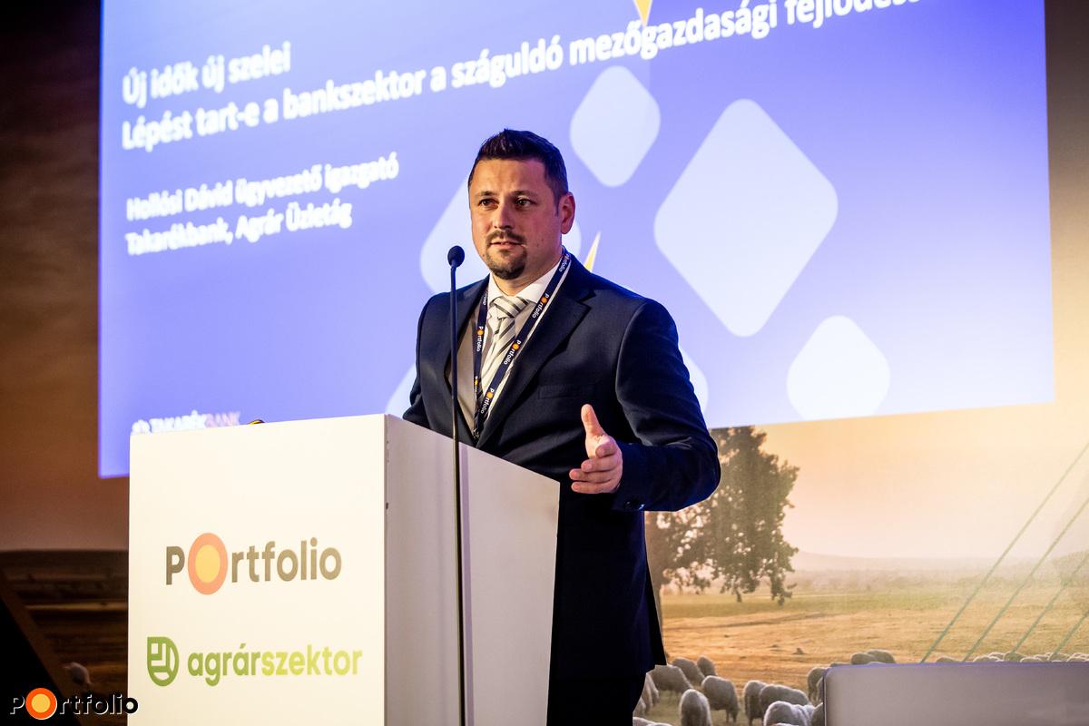 Hollósi Dávid (ügyvezető igazgató, Takarékbank, Agrár Üzletág): Új idők új szelei - Lépést tart-e a bankszektor a száguldó mezőgazdasági fejlődéssel?