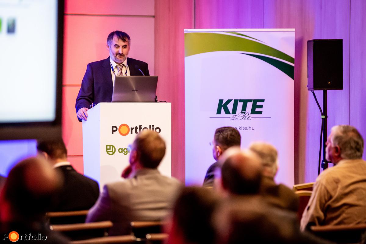Mészáros Gábor (rendszerfejlesztési igazgató, KITE Zrt.): Fenntartható agrárinnováció – A KITE Zrt. precíziós gazdálkodási rendszere