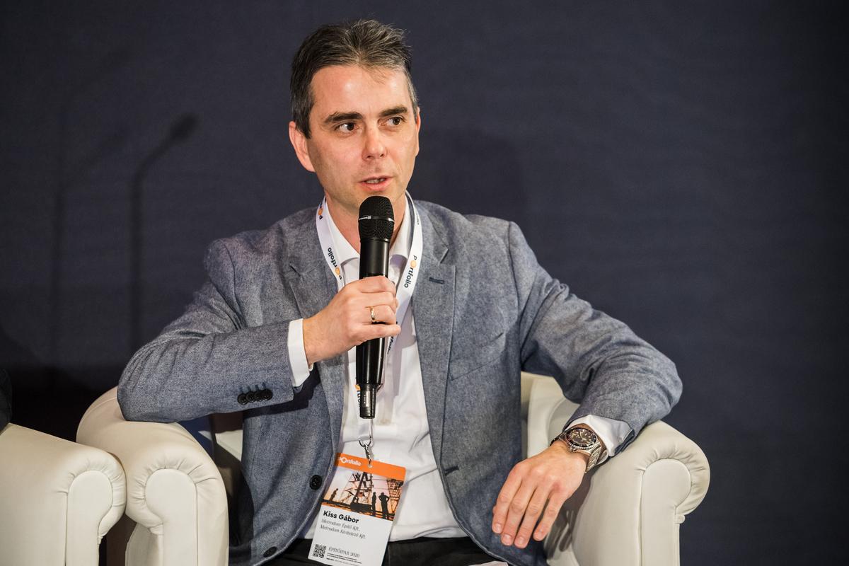 Kiss Gábor, ügyvezető igazgató, Metrodom Kivitelező Kft.