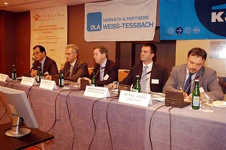 2. Közép-Kelet Európai Vállalatfinanszírozási és Kockázati Tőke Konferencia: Kockázati tőke kerekasztal: Hol vannak a deal-ek?