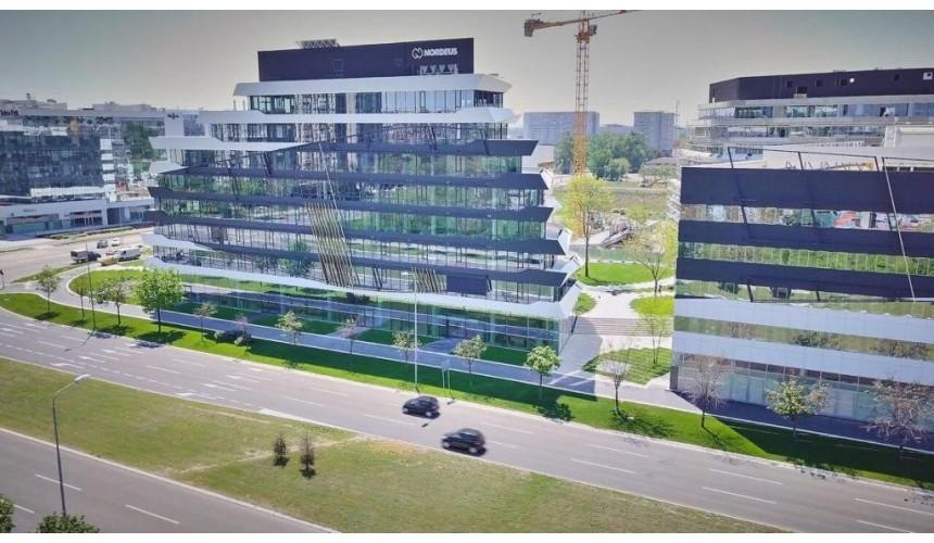 Green Heart (4 épület) Belgrád, forrás: GTC