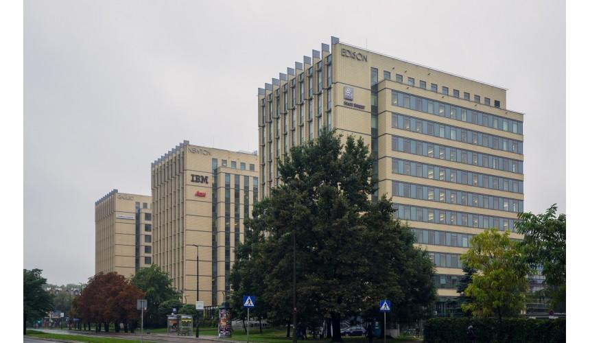 Newton (Korona Office Complex) Krakkó, forrás: GTC