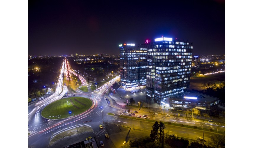 City Gate, Bukarest, forrás: GTC