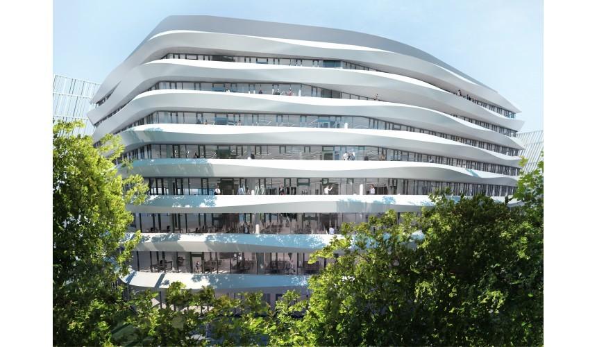 Green Heart (1 új épület), Belgrád, forrás: GTC