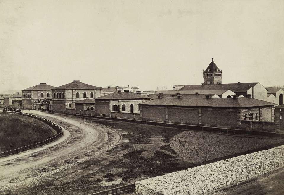 (1880-as évek) Közvágóhíd, Forrás: Fortepan , Budapest Főváros Levéltára. Levéltári jelzet HU.BFL.XV.19.d.1.05.131