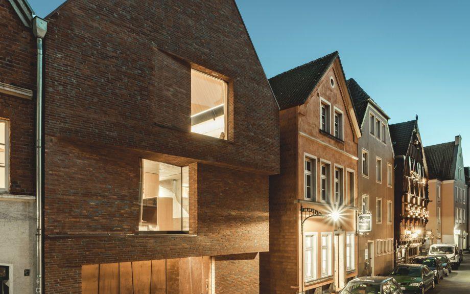 Haus am Buddenturm, Németország, fotós: hehnpohl architektur bda
