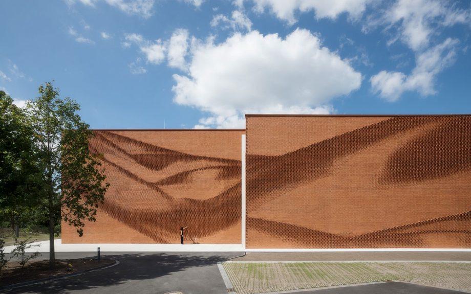 New Administration Building Textilverband Munster, Németország, fotós: Thomas Wrede VG Bild-Kunst Bonn