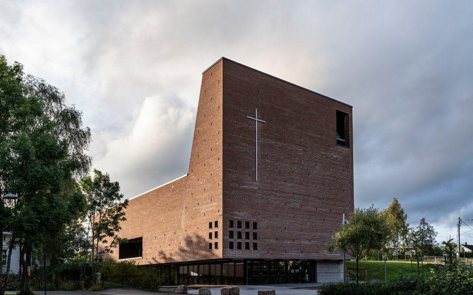 Teglen Spikkestad Church and Culture Center,  Norvégia, fotós:  Jiri Havran