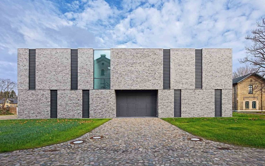 New Depot Building Hesterberg Schleswig-Holstein State Museum, Németország, képet készítette: Bernd Perlbach